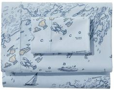 Find the best Nautical Map Percale Sheet Collection at L. Our high quality home goods are designed to help turn any space into an outdoor-inspired retreat. Nautical Bathroom Design Ideas, Nautical Bedroom, Nautical Bathrooms, Nautical Home, Vintage Nautical Decor, Nautical Bed Sheets, Nautical Interior, Nautical Gifts, Percale Sheets