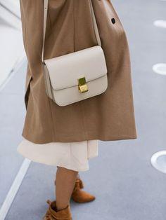 Cute Leather Box Bag