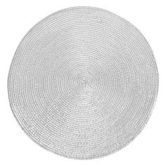 Zara Home Metallic Thread Placemat In Silver