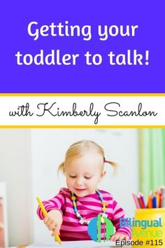 Getting your toddler to talk!