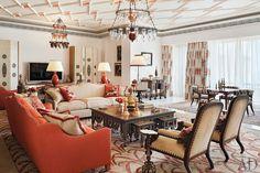 Living Room by Alberto Pinto Beautiful Home Designs, Beautiful Interiors, Colorful Interiors, Moroccan Home Decor, Diy Home Decor, Architectural Digest, Living Room Flooring, Living Room Decor, Luxury Interior