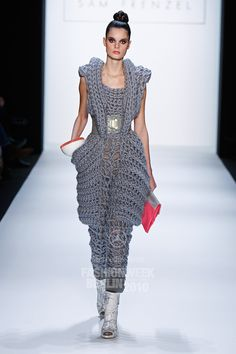 Sam Frenzel: autumn winter 2010/2011, Would LOVE to make this for myself, but would take a lifetime, #ILOVEBIGPROJECTS!