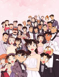 @Nor Syafiqah Manga Anime, Dc Anime, Magic Kaito, Manga Detective Conan, Outlaw Star, Princess Jellyfish, Detektif Conan, Detective Conan Wallpapers, Kaito Kid