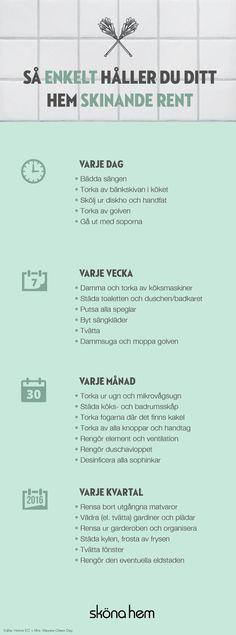 3 tips på vårstädning som ger ny energi till hemmet Konmari, Diy Home Decor Rustic, Bra Hacks, Décor Boho, Home Hacks, My New Room, Getting Organized, Home Organization, Homemaking