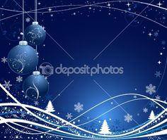 Christmas background by vanias - Stock Vector