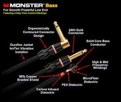 Bass Instrument Cable