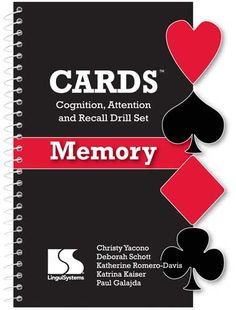 Forty activity ideas for training different types of memory with a standard deck of cards, all for $12.95