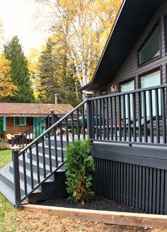 Modern Diy Vertical Slatted Deck Skirting Sponsored By The Home