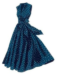 LC Georgina's Sunset Polka Dot Dress