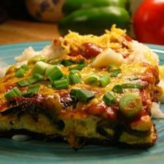 Chili Rellenos Casserole I think I need a separate category for Mexican inspired food...my favorite