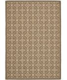 RugStudio presents Safavieh Courtyard Cy6564-22 Brown / Creme Machine Woven, Good Quality Area Rug