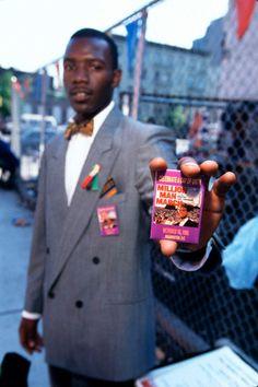 James Leynse photographer.  Million Man March, 1995.