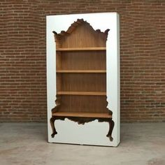 Inside Out Bookcase by POLart