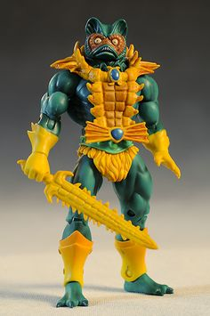 Masters of the Universe Classics Mer-Man action figure Hee Man, He Man Figures, Cartoon Toys, She Ra Princess Of Power, Custom Action Figures, Thundercats, Classic Toys, Old Toys, 80 Cartoons