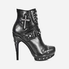 Music Merch - Boots - Shoes - Sandals - Woman, store boots, shoes, sandals, woman - Music Merch, Rock, Metal, Extreme, Dark, Punk, online shop