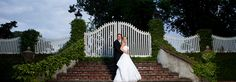 Wedding Photo on Water Street in Edenton NC. (Photo by Groves and Groves Photography)