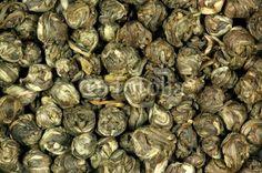 Grüner Tee, Jasmintee, jasmine tea - Dragon Phoenix Pearls, Fotolia