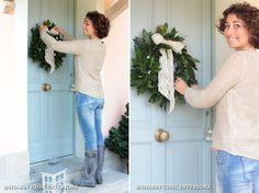 Oltre 1000 immagini su my work su pinterest interni - Corone natalizie da appendere alla porta ...