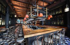 Gato Restaurant NYC  Bobby Flay - design by Rockwell