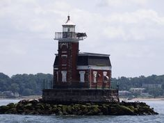 On a boat tour of New York harbor, you'll see lots of small lighthouses that you don't even know about.