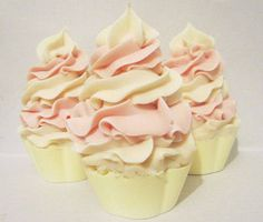 White Dove Cup Cake Soap