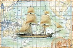 I uploaded new artwork to fineartamerica.com! - 'Nautical Journey-b' - http://fineartamerica.com/featured/nautical-journey-b-jean-plout.html via @fineartamerica
