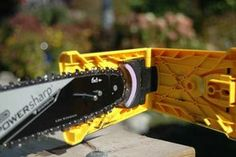 Oregon saw chain sharpener - easy to use chainsaw attachment makes sharpening quick.
