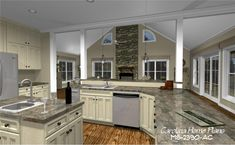 House plans with open floor plan layouts (see more styles).