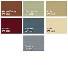 all-seasons warm paint palette. I'll be using some of these shades in the next year.