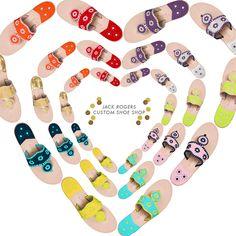 things to love: jack rogers custom shoe shop