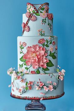 Extraordinary, detailed wedding cakes are the hallmark of creative tastemaker Bonnae Gokson. Here, some of the creations showcased in her new book. Cake Icing, Eat Cake, Cupcake Cakes, Cupcakes, Gorgeous Cakes, Pretty Cakes, Amazing Cakes, Apple Galette, Spring Cake