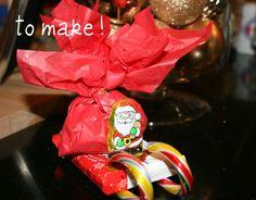 Candy Santa Sleighs {Tutorial}