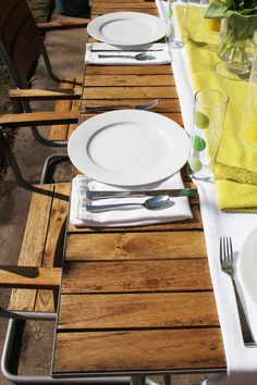 Ikea Outdoor Table All Cleaned Up