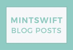 http://mintswift.com/blog/  MintSwift is a Graphic Design Studio, specializes in Logo Design for small businesses, creative entrepreneurs and bloggers founded by Adrianna Glowacka.