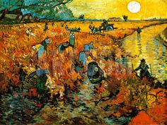 Van Gogh only sold one painting (Red Vineyards at Arles, 1888)