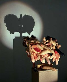 Incredible Shadow Sculptures Made of Rubbish - Tim Noble and Sue Webster