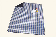 """Amazon.com : Monstar XXL 69x79"""" Classic Plaid Outdoor Blanket - Water Proof Backing Luxury Soft Chequered Style Picnic Rug - Easy To Fold - Perfect For Beach, Travel, Picnic Blanket - Size on 69x79 Inch : Sports & Outdoors"""