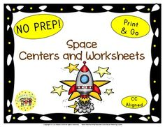 LOOK WHAT'S BEEN ADDED  Space Word Search  Space Graphing Sheet  Space Coloring Sheet  Plus, new images!  *********************************************************************  This Space packet contains:  Reading Center Book List Art Center Project Writing Center Activity Computer Center Websites Friday Activity  AND 9 worksheets.