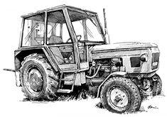 Retro, Monster Trucks, Vehicles, Vintage, Tractors, Vehicle, Primitive, Mid Century, Tools
