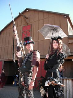 Make a Steampunk Gun That'll Blow 'Em Away....Wild West Steampunk