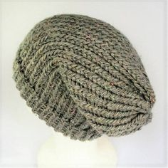 Check out this item in my Etsy shop https://www.etsy.com/uk/listing/511343804/beige-summer-beanie-slouchy-wool