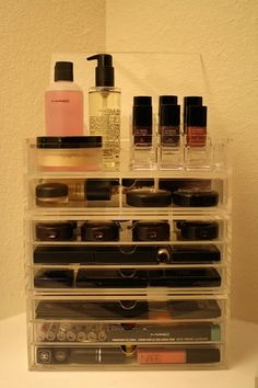 See what I mean about the Chanel polish storage? #Perfection