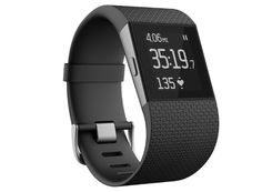 Fitbit Surge $248.32 Amazon  PROS Continuous heart rate monitoring. Built-in GPS. Comfortable, secure fit. Tracks new activities like hiking, yoga, and weight-lifting workouts. Excellent app and easy syncing. Supports incoming texts and call notifications. Accurate.  CONS: Limited push notifications. Moderately large. Not waterproof for swimming. Below average battery life with GPS enabled. Charger not interchangeable with other Fitbits.