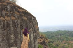 A place with full of Rock cliff and suit for weekend vacation. Nglanggeran (again), Pathuk Yogyakarta Indonesia