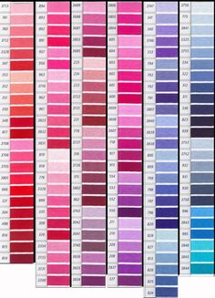 1000 images about colores on pinterest color palettes - Gama de colores rosa ...