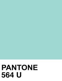 Pantone. #turquoise