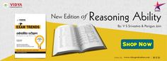 New Edition of Reasoning Ability Book is available at www.vidyaprakashan.com