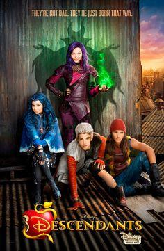 Disney Channel's 'Descendants' Movie Poster Revealed