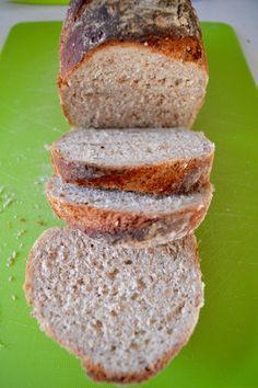Wholemeal flour and flaxseed bread - The Souvlaki Tales