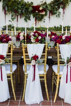 37 Sweet Winter Vintage Wedding Decoration Ideas - Page 6 of 39 Wedding Chairs, Wedding Table, Fall Wedding, Dream Wedding, Trendy Wedding, Indoor Wedding, Wedding Shot, Wedding Dj, Winter Wedding Decorations